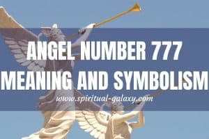 Angel Number 777 Meaning and Symbolism