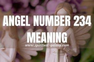 Angel Number 234 Hidden Meaning