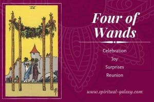 Four of Wands Tarot Card Meaning (Upright & reversed)