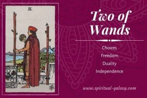 Two of Wands Tarot Card Meaning (Upright & Reversed)